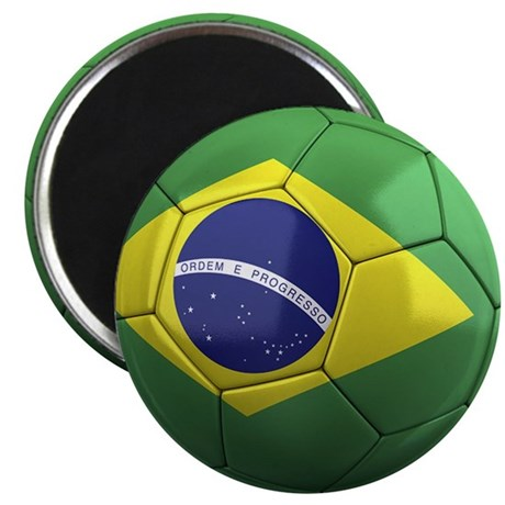 Team Brazil Magnet