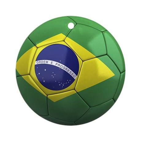 Team Brazil Ornament (Round)