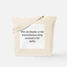 a bit shifty Tote Bag