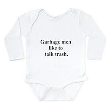 trash talk Long Sleeve Infant Bodysuit