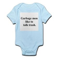 trash talk Infant Bodysuit