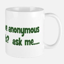 Does a bear have anonymous se Small Small Mug