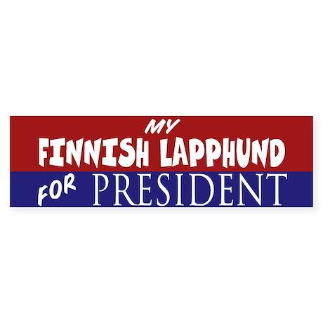 Finnish Lapphund Sticker (Bumper)