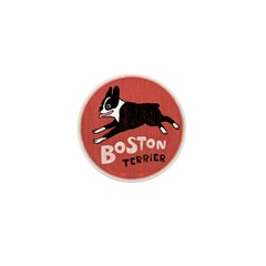 Boston Terrier Mini Button (100 pack)