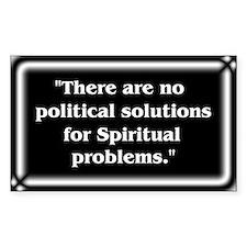 Spiritual Problems - Decal