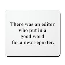 good word Mousepad