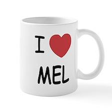 I heart mel Mug