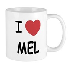 I heart mel Small Mug