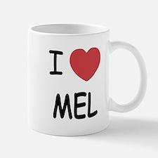 I heart mel Small Small Mug