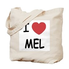 I heart mel Tote Bag