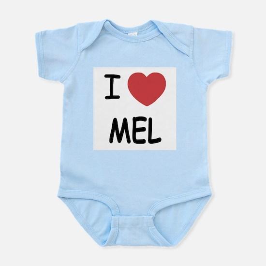 I heart mel Infant Bodysuit
