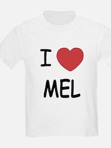 I heart mel T-Shirt