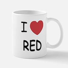 I heart red Mug