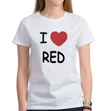 I heart red Tee