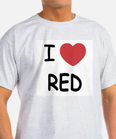 I heart red T-Shirt