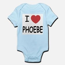I heart phoebe Infant Bodysuit
