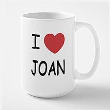I heart joan Large Mug