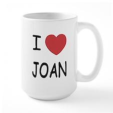 I heart joan Mug