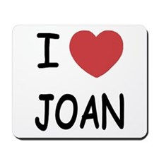I heart joan Mousepad