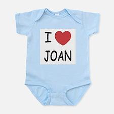 I heart joan Infant Bodysuit