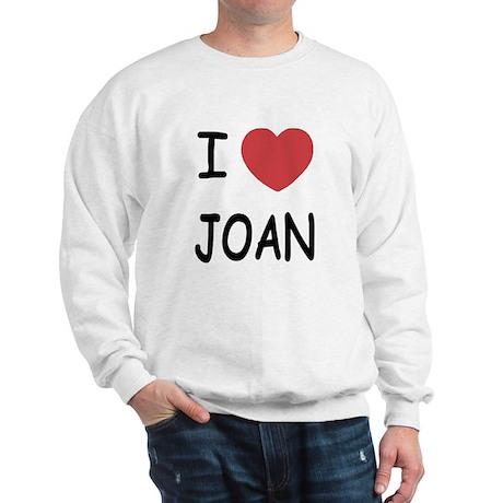 I heart joan Sweatshirt