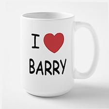 I heart barry Large Mug