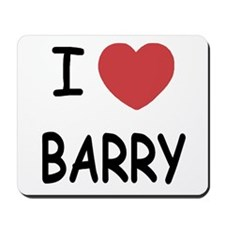 I heart barry Mousepad