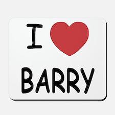 I heart barry Mousepad