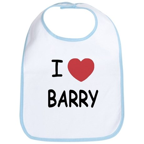 I heart barry Bib