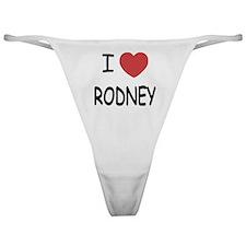 I heart rodney Classic Thong