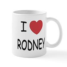 I heart rodney Mug