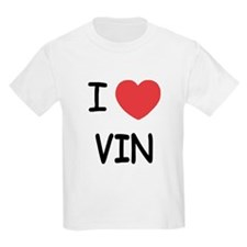 I heart vin T-Shirt