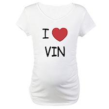 I heart vin Shirt