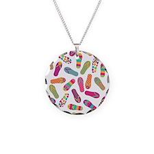 Colourful Flip Flops Necklace