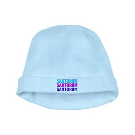 Rick Santorum Purple & Teal baby hat