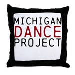 Michigan Dance Project Throw Pillow