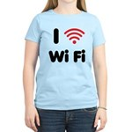 I Love Wi Fi Women's Light T-Shirt