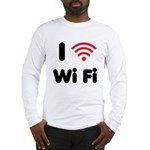 I Love Wi Fi Long Sleeve T-Shirt