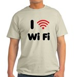I Love Wi Fi Light T-Shirt