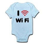 I Love Wi Fi Infant Bodysuit