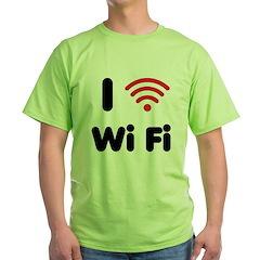 I Love Wi Fi T-Shirt