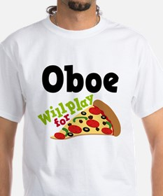 Oboe Play For Pizza Shirt