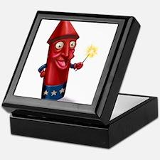 Mr. Sparkle Firecracker Keepsake Box