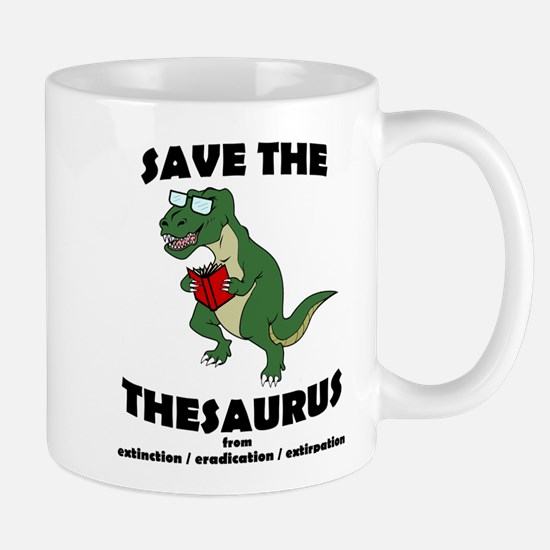 Save The Thesaurus Mug