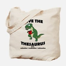 Save The Thesaurus Tote Bag