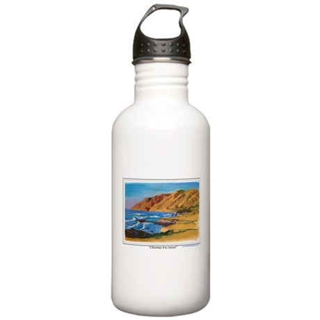 Christmas Eve Sunset Stainless Water Bottle 1.0L