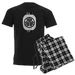 Mitsuba aoi chochin1 Men's Dark Pajamas