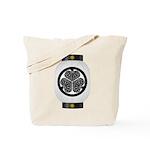 Mitsuba aoi chochin1 Tote Bag