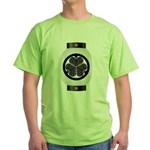 Mitsuba aoi chochin1 Green T-Shirt