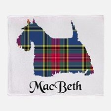 Terrier - MacBeth Throw Blanket